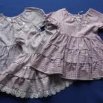 Šaty volánové 2102, cena 280,- Kč