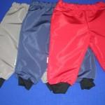 Nepromokavé kalhoty 2505, cena 350,- Kč