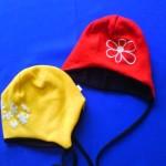 Čepice z pleteniny – zavazovací 2308, cena 220,- Kč