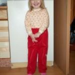 Jarní a podzimní vycházkové kalhoty 2503, cena od 350,- Kč