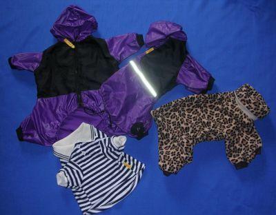 oblecky pro pejsky - fleece s kapucou 4