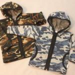 Svetřík s kapucí a kapsami (maskáčový vzor) 2305, cena 400,-Kč